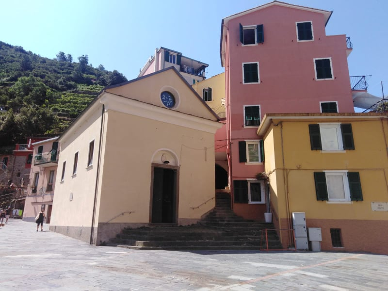 Manaèarte, the collective exhibition of the artists of Manarola